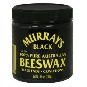 Murray's Black Beeswax pomade 100ml