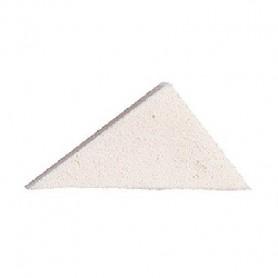 Esponja triangular de latex para maquillaje