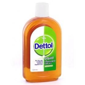Dettol liquid antiseptic y desinfectant de 500ml