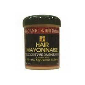 Organic root stimulator hair mayonnaise 8 oz