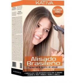 Kativa alisado brasileño de queratina y argán 125ml