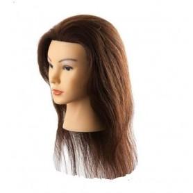 Maniquí prácticas de cabello sintético