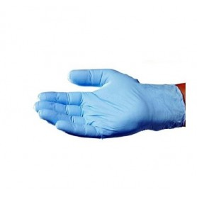 Guantes nitrilo azul caja 100 unidades