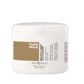 Fanola curly shine mascarilla cabello rizado 500 ml