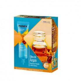 Novex aceite de argán tratamiento intensivo 3 ampollas x15ml