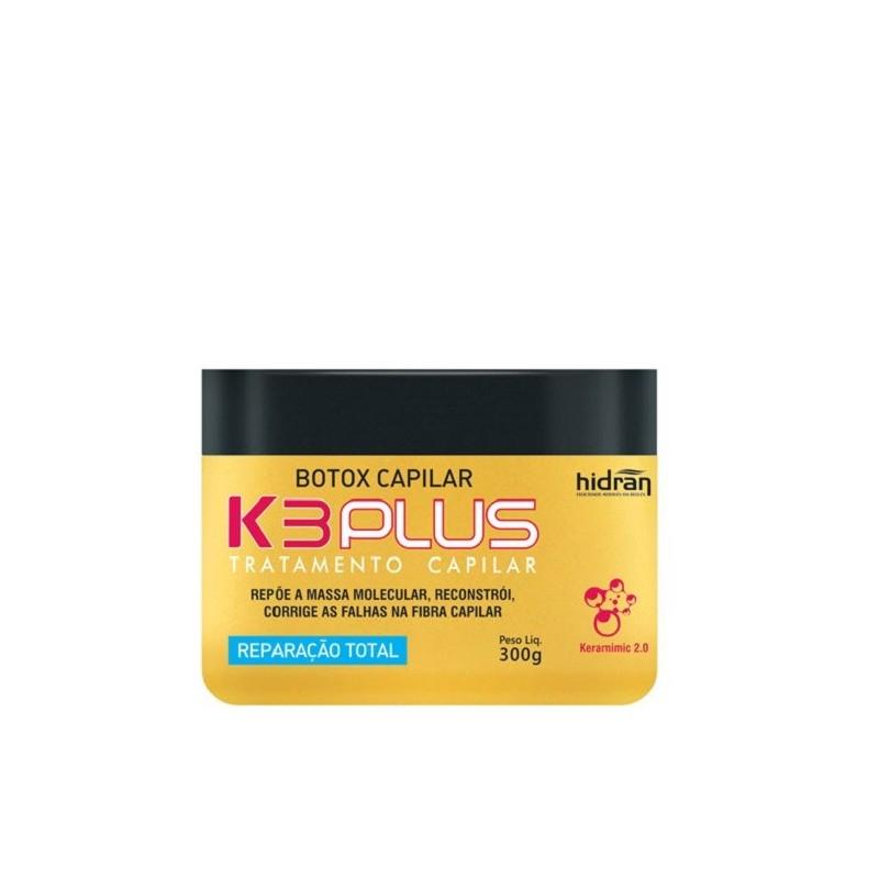 Hidran botox capilar K3 plus 300 ml