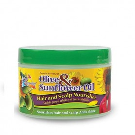 Sofn' Free pretty olive sunflower hair scalp 250 ml
