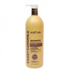 Kativa sweet camomile champú manzanilla 1000 ml