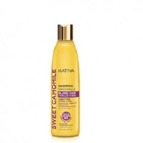 Kativa shampoo sweet camomile champú manzanilla 250 ml