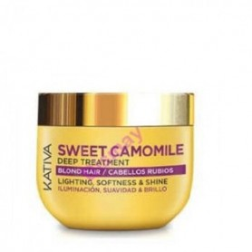 Kativa sweet camomile deep treatment mascarilla manzanilla 250 ml