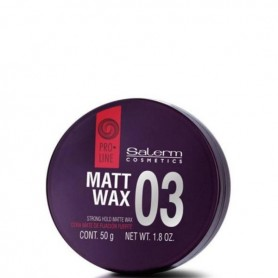 Salerm proline 03 matt wax 50 gramos