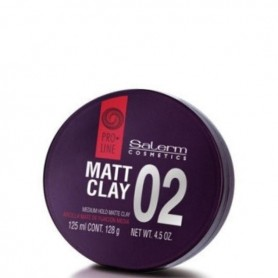 Salerm pro line 02 matt clay cera 125 ml
