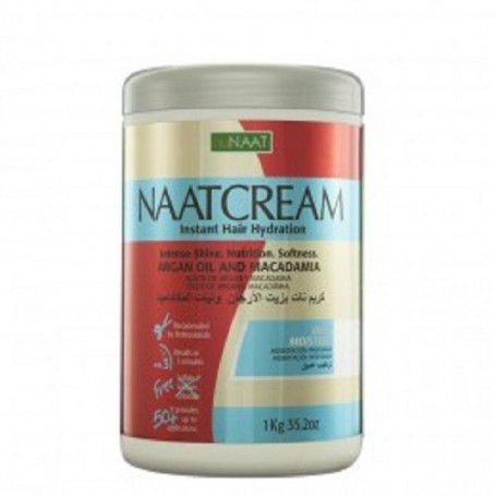 Naatcream mascarilla macadamia y argán 1 kilo