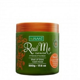 Nunaat real me mascarilla cabello rizado 500 ml