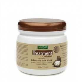 nuNAAT mascarilla tratamiento cabello rizado intensive 500 ml