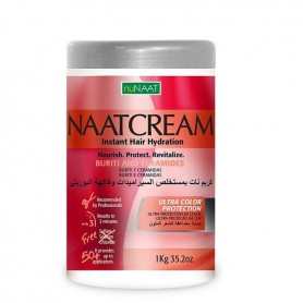 Naatcream mascarilla ceramidas y buruti cabello teñido 1000 ml