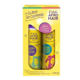 Afro hair estilo kit champú acondicionador de300ml