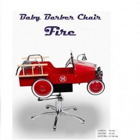 Fersan sillón de niño baby barber car fire