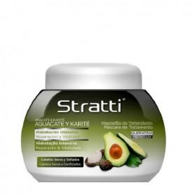 Stratti aguacate y karite mascarilla reparación y hidratación