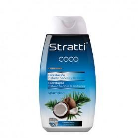 Stratti champú coco y queratina hidratante 400 ml