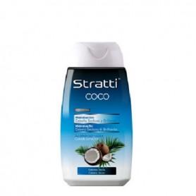 Stratti acondicionador coco y queratina hidratante 300 ml
