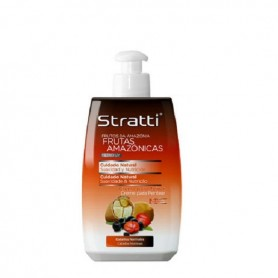 Stratti crema peinado frutas amazonas cuidado natural 300ml