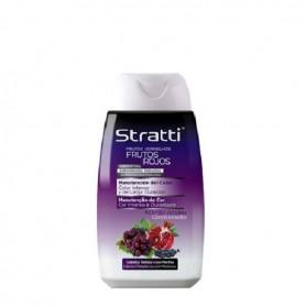 Straitt acondicionador frutos rojos queratina cabellos teñidos 300 ml