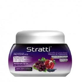 Straitt mascarilla frutos rojos queratina cabellos teñidos