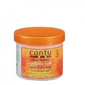 Cantu natural hair moisturizing gel twist & lock 370ml