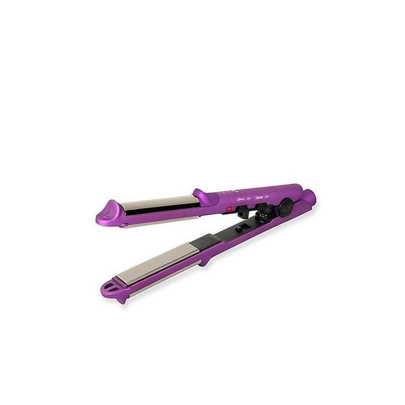 GCK plancha pelo profesional s-duo curl purple