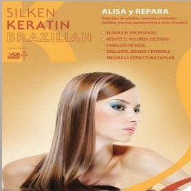 Silken keratin brazilian tratamiento alisador de 500ml