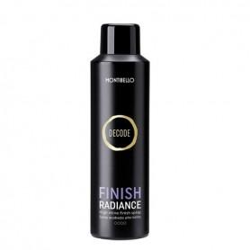 Montibello Decode finish radiance spray acabado alto brillo 200 ml