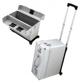 Maletin maleta de aluminio con ruedas