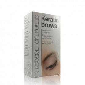 The cosmetics republic keratin brows fibras cejas