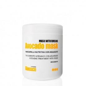 Glossco profesional mascarilla nutritiva aguacate 1000 ml