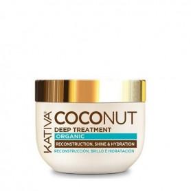 Kativa mascarilla aceite de coco organico 250ml