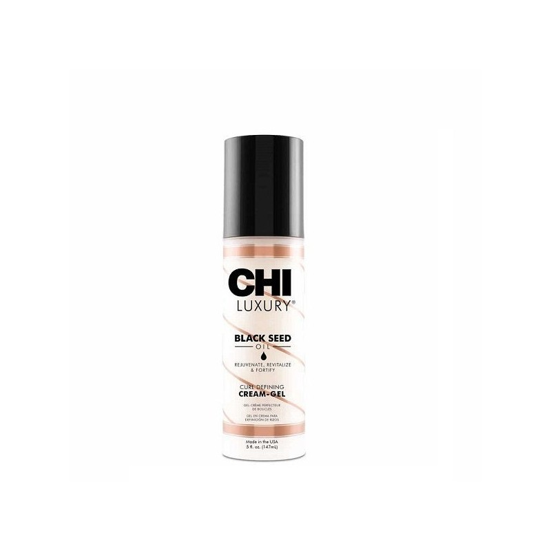 CHl Luxury black seed oil crema gel definidora de rizos