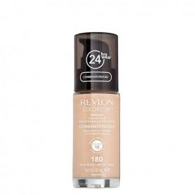 Revlon Colorstay makeup oily maquillaje 180 Sand Beige de 30ml