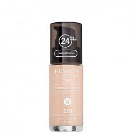 Revlon Colorstay makeup oily maquillaje fluido Natural Beige 220