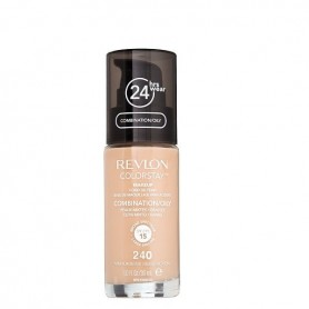 Revlon Colorstay makeup oily maquillaje Medium Beige 240 de 30ml