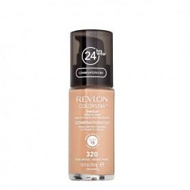 Revlon Colorstay makeup oily maquillaje tono True Beig 320