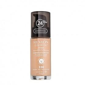 Revlon Colorstay makeup oily maquillaje 330 Natural Tan 30ml