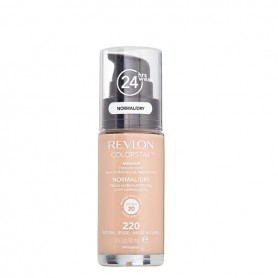 Revlon Colorstay makeup dry maquillaje piel seca normal Natural Beige 220