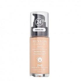 Revlon Colorstay makeup dry maquillaje piel seca normal tono Medium Beige240