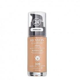 Revlon Colorstay makeup dry maquillaje piel seca normal Natural Tan 330
