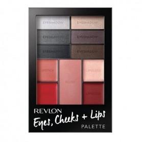Revlon palette ojos labios colorete 200 Seductive Smokies