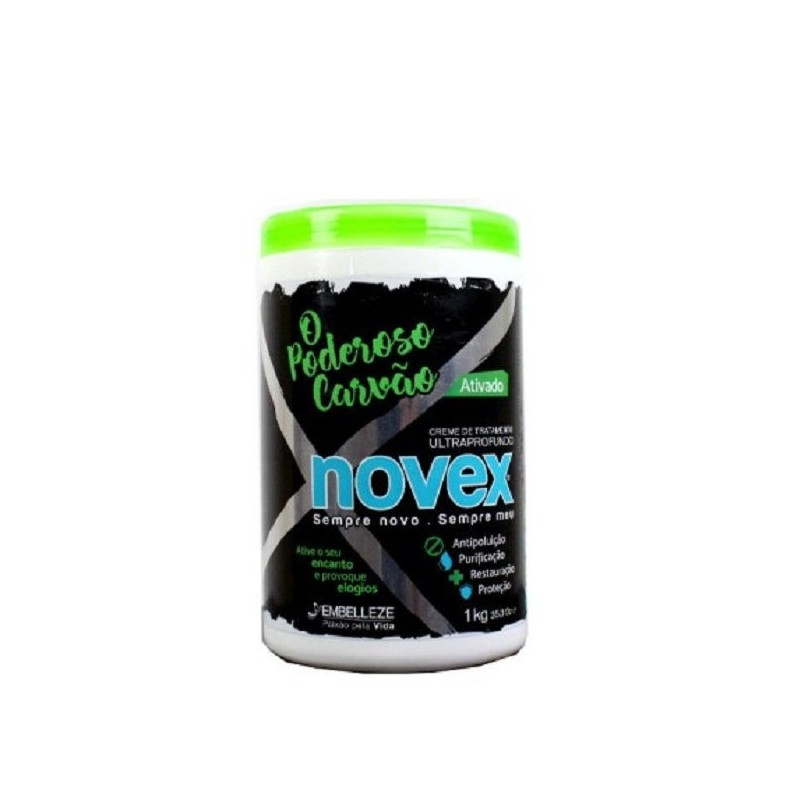 Novex The powerful carcoal mascarilla carbon activado 1000ml