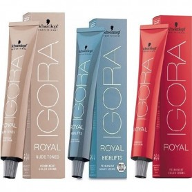 Schwarzkopf tinte igora royal coloración