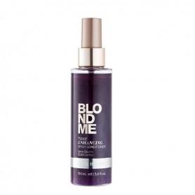 Schwarzkopf blondme spray acondicionador corrector rubios frios 150ml
