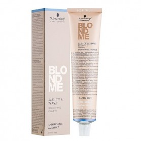Schwarzkopf Blondme bleach tone decoloración y matriz 60 ml